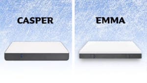 Casper vs Emma mattress comparison
