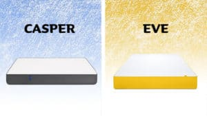 Casper vs Eve - mattress comparison