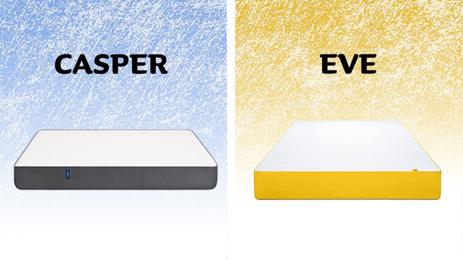 Casper vs Eve - mattress comparison