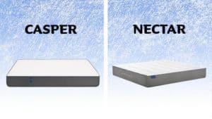 Casper vs Nectar mattress comparison