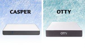 Casper vs Otty mattress comparison