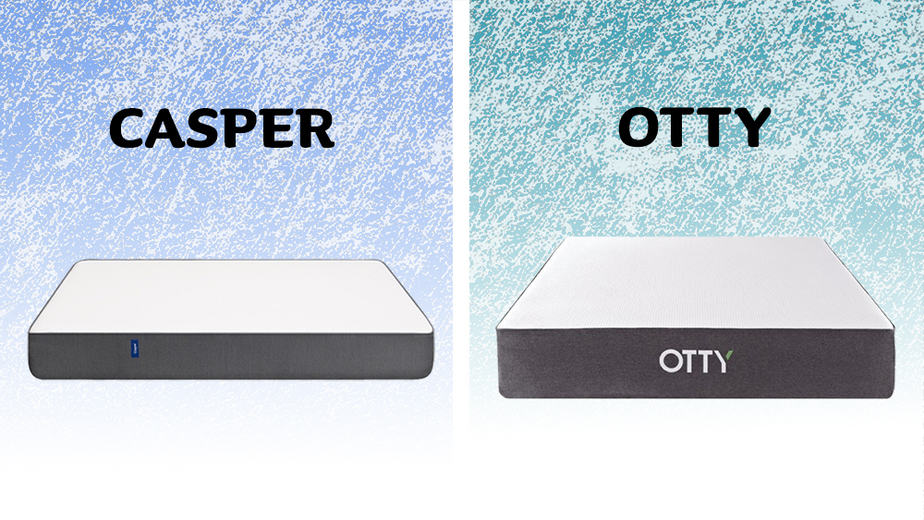 Casper vs Otty mattress comparison