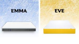 Emma vs Eve mattress comparison