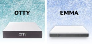 Otty vs Emma mattress comparison