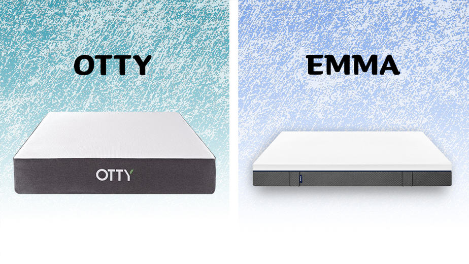 Otty vs Emma mattress comparison
