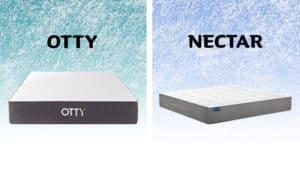 Otty vs Nectar mattress comparison