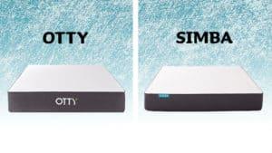 Otty vs Simba mattress comparison