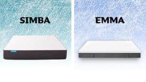 Simba vs Emma mattress comparison