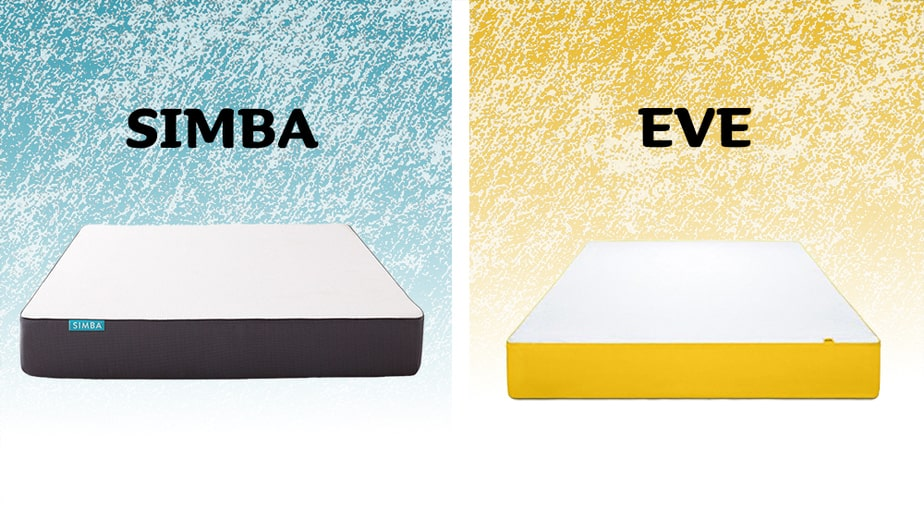 Simba vs Eve mattress comparison