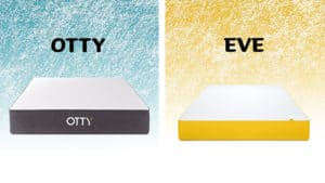 otty vs eve mattress comparison