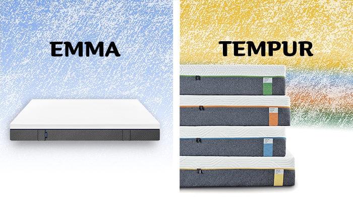emma vs tempur mattress review