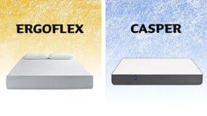 ergoflex vs casper mattress review