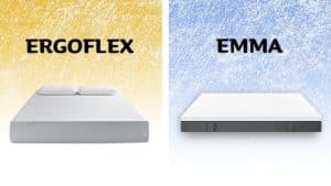 ergoflex vs emma mattress review