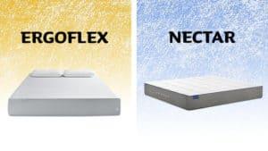 ergoflex vs nectar mattress comparision