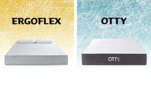 ergoflex vs otty mattress compare