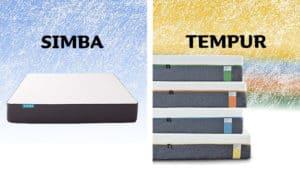 tempur vs simba mattress comparison