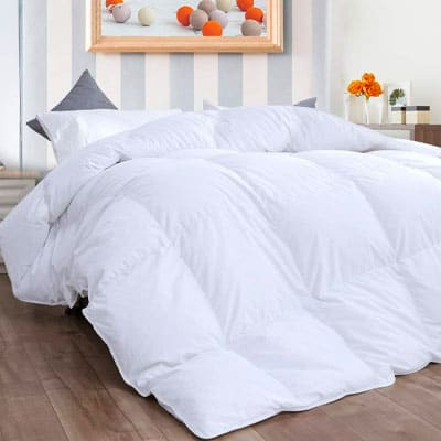 D & G THE DUCK AND GOOSE CO Feather Down Duvet 13.5 Tog_