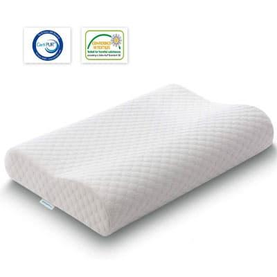 TAMPOR Orthopedic Contour Pillow Memory Foam Pillow