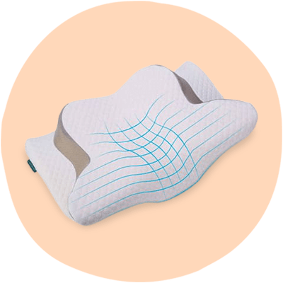 Tapmener orthopaedic anti snore pillow