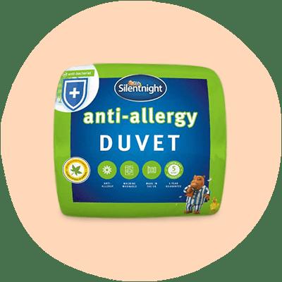 silentnight anti- allergy duvet