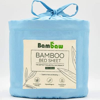 Bambaw Bamboo fitted sheet