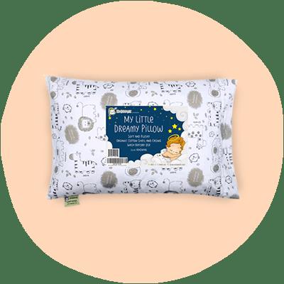Keababies hypoallergenic toddler pillow