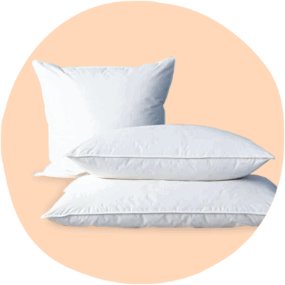 duck feather and down pillows