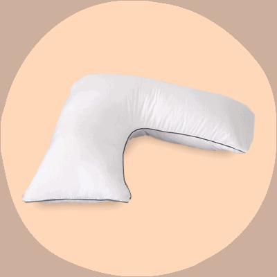 eds medical v shaped pillow