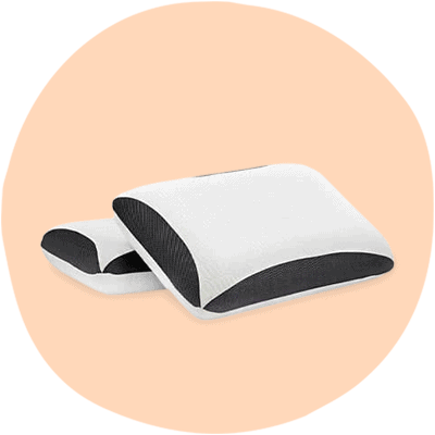 rem fit bamboo charcoal pillow