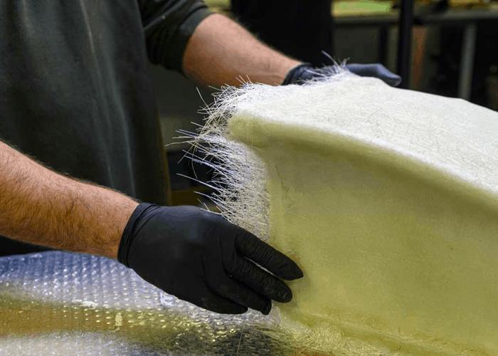 Mattress without fibreglass