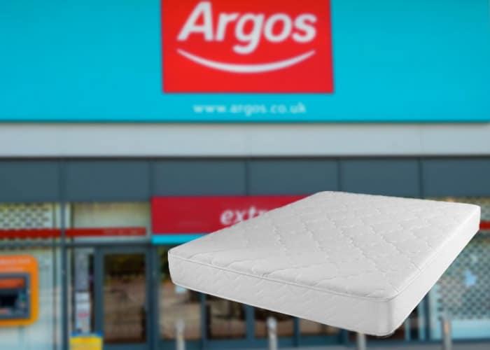 argos mattress review