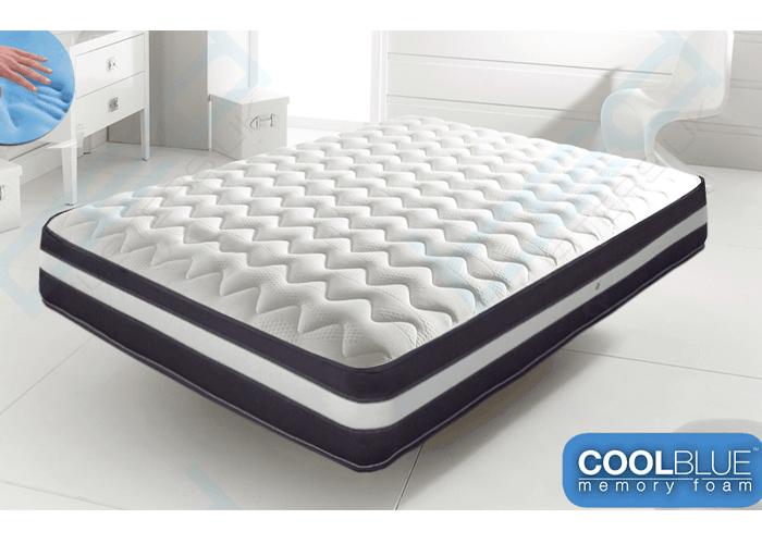 cool blue mattress