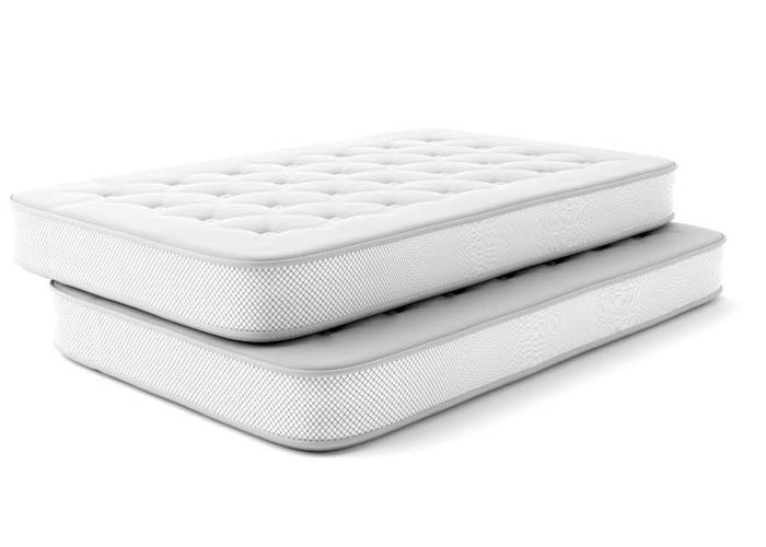 mattresses stacked on each other