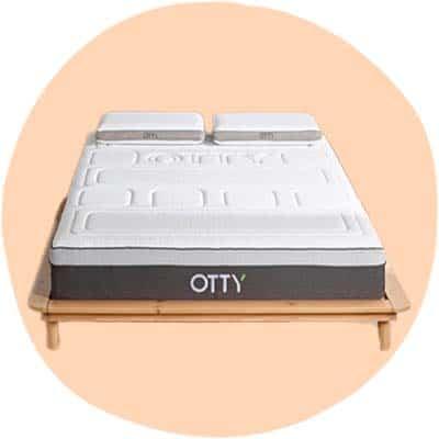 OTTY PURE Hybrid Bamboo & Charcoal Mattress