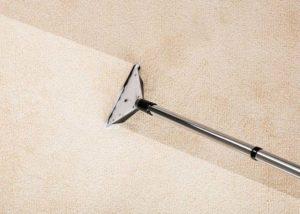 carpet cleaner on mattress